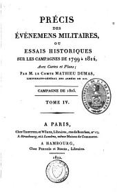 Précis des évènemens militaires ou essais historiques sur les campagnes de 1799 à 1814: Volume14