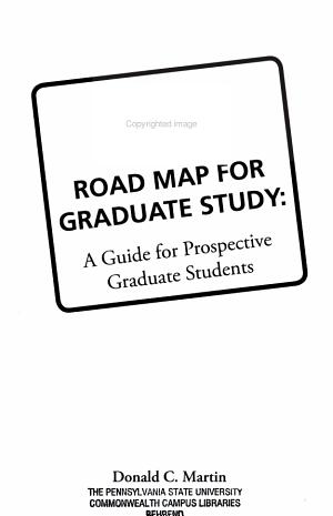 Road Map for Graduate Study