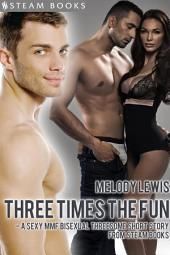 Three Times the Fun - A Sexy MMF Bisexual Threesome Short Story from Steam Books