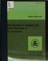 Modeling dynamics of biological and chemical components of aquatic ecosystems