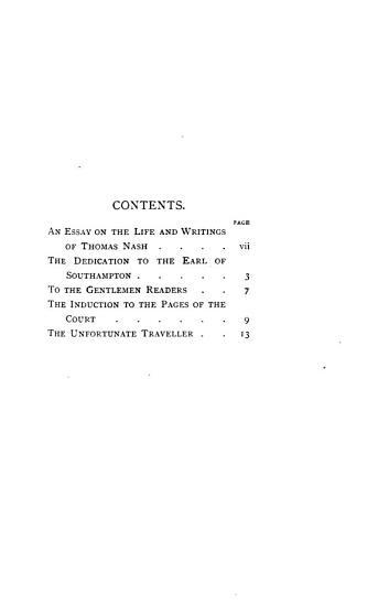 The Unfortunate Traveller PDF