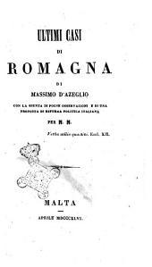 Ultimi casi di Romagna