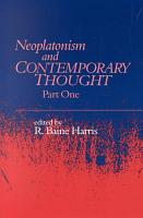 Neoplatonism and Contemporary Thought PDF