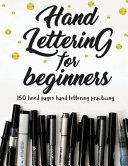Hand Lettering for Beginners PDF
