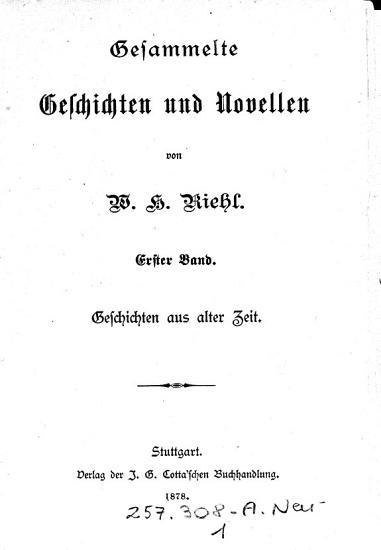 Gesammelte Geschichten und Novellen PDF