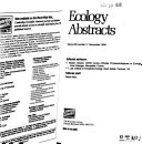 Ecology Abstracts PDF
