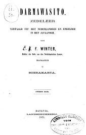 Darmawasita: tĕgĕses pitutur bĕcik tuturunan saka ing tĕmbung Walonda lan tĕmbung Enggrings
