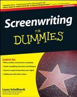 Screenwriting For Dummies PDF