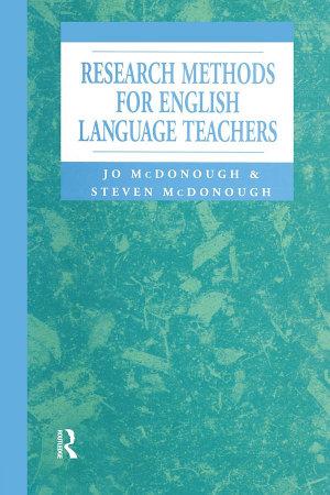 Research Methods for English Language Teachers PDF