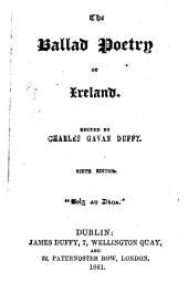 The Ballad Poetry of Ireland