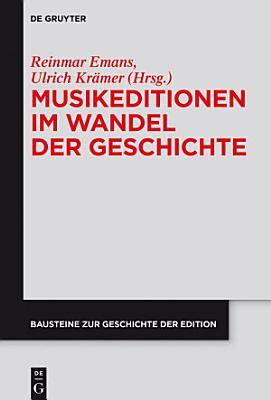 Musikeditionen Im Wandel Der Geschichte