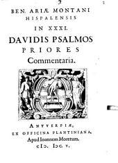 In triginta tres Davidis Psalmos priores commentaria