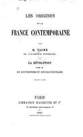 Les origines de la France contemporaine: Volume4