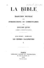 Nouveau Testament: Volume3