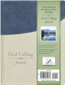 God Calling Journal Book