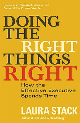Doing the Right Things Right PDF
