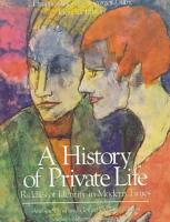 A History of Private Life PDF