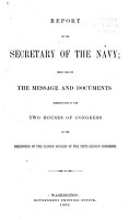 Annual Report of the Secretary of the Navy PDF