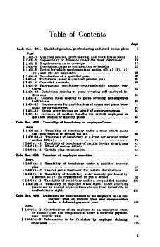 Law and Regulations Relating to Employee Pension  Annuity  Profit sharing  Stock Bonus  and Bond Purchase Plans  Including Plans for Self employed Individuals PDF