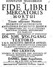 De fide libri mercatoris mortui