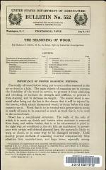 The Seasoning of Wood