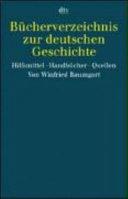 B  cherverzeichnis zur deutschen Geschichte PDF