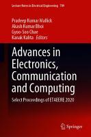 Advances in Electronics  Communication and Computing PDF