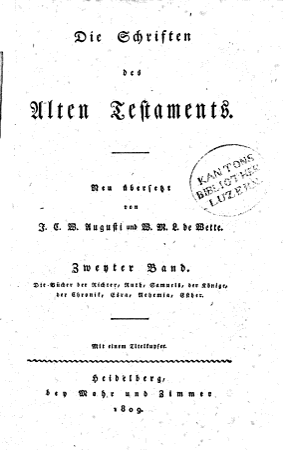Die Schriften des Alten Testaments PDF