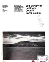 Soil survey of Hettinger County, North Dakota