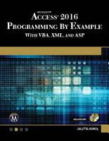 Microsoft Access 2016 Programming By Example PDF