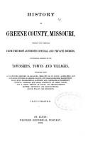 History of Greene County  Missouri PDF