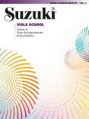Suzuki Viola School  Volume A  Piano Accompaniments PDF