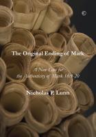 The Original Ending of Mark PDF