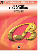 If I Only Had a Brain  From the Wizard of Oz  PDF