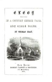 Elegy Written in Country Churchyard and Other Poems