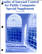 Audits of Internal Control for Public Companies Special Supplement for Use with Principles of Auditing and Other Assurance Services