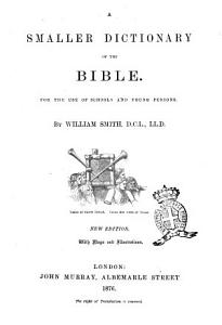 A Smaller Dictionary of the Bible PDF