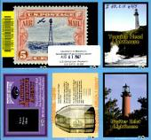 History mystery trading cards: lighthouses]