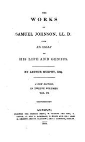 The works of Samuel Johnson: Volume 3