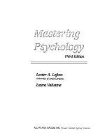Mastering Psychology