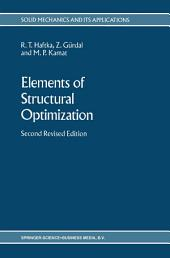 Elements of Structural Optimization: Edition 2