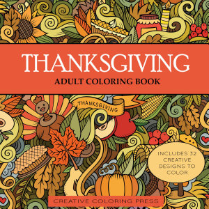 Thanksgiving Adult Coloring Book