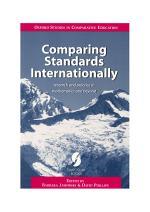 Comparing Standards Internationally