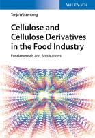 Cellulose and Cellulose Derivatives in the Food Industry PDF