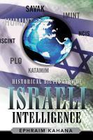 Historical Dictionary of Israeli Intelligence PDF