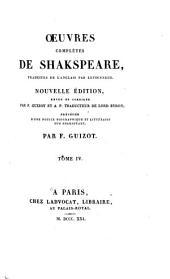 Œuvres complètes de Shakspeare: Volume4