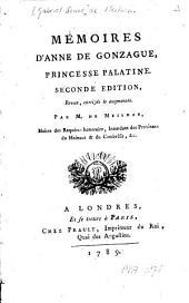 Mémoires d'Anne de Gonzague, princesse palatine