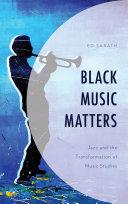 Black Music Matters