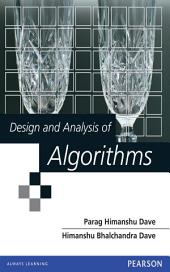 Design and Analysis of Algorithms: