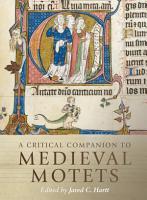 A Critical Companion to Medieval Motets PDF
